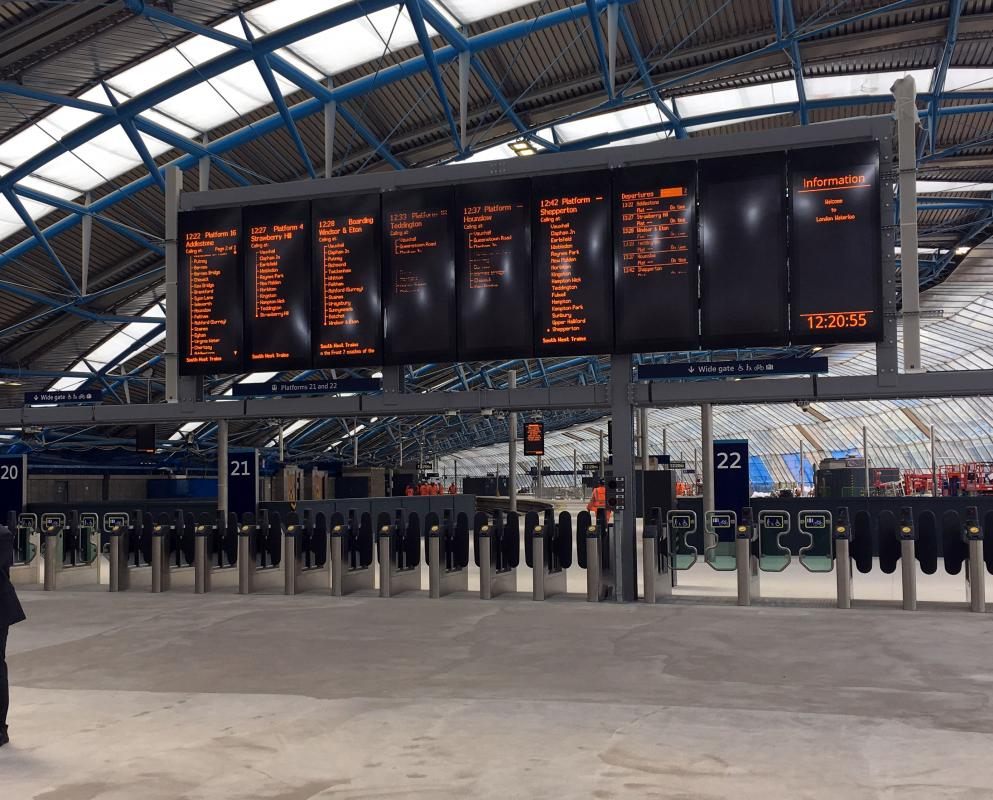 Javelin is solution for Waterloo platforms
