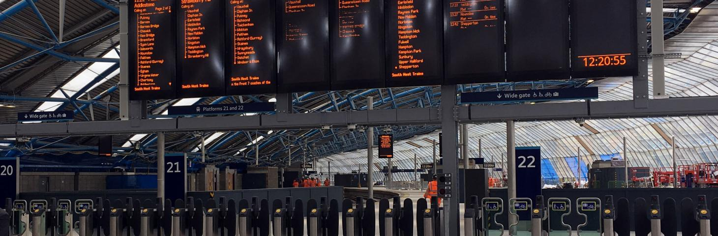 Waterloo Station revamp order