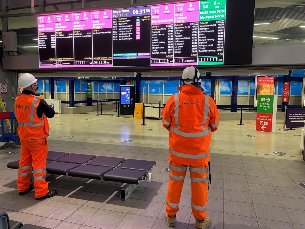 Station transformation praised