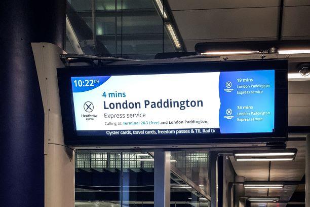 Optimum Heathrow passenger management