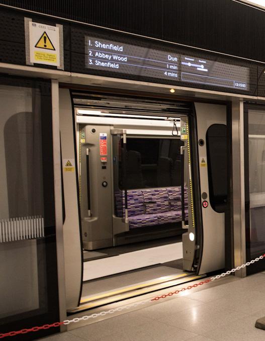 Infotec creates Elizabeth line passenger information displays