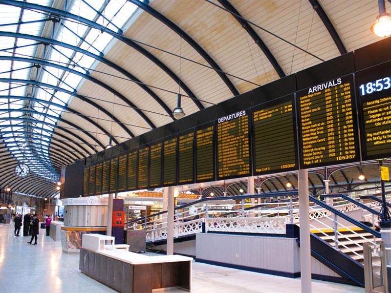 Newcastle Station CIS