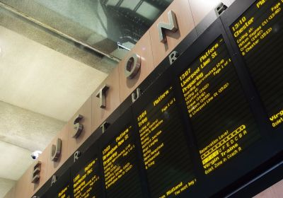 London Euston Train Station