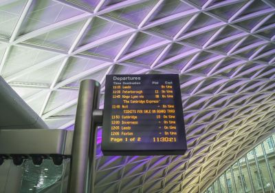London Kings Cross Train Station