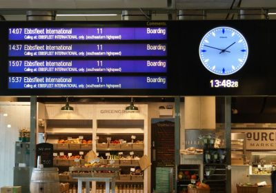London St Pancras Train Station